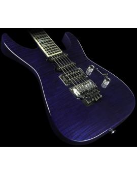 JACKSON SL1 Custom Flame Trans Blue