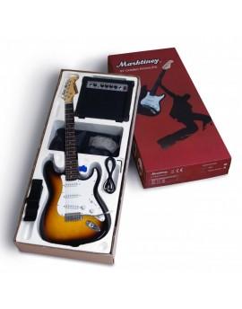 Pack Guitarra Electrica MARKTINEZ Sumburst
